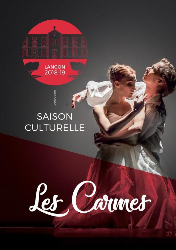Couverture Saison Culturelle 2018/2019 - Langon