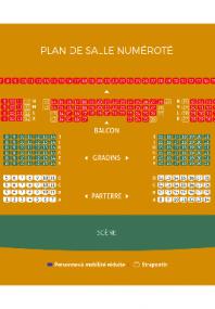Téléchargez le plan de la salle de spectacles