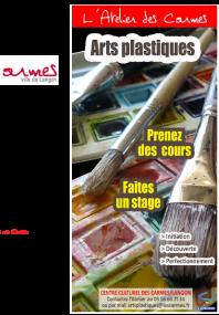 Plaquette arts plastiques